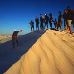 Wydmy w okolicach naszej chatki bazowej w Grey - Park Narodowy Numbung - Australia Zachodnia